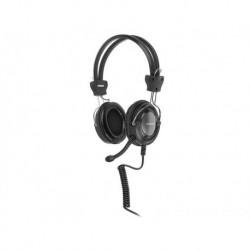 Słuchawki z mikrofonem A4Tech HS-19-1 czarne