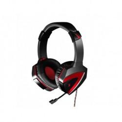 Słuchawki z mikrofonem A4Tech Bloody G501 czarno-czerwone
