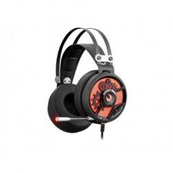Słuchawki z mikrofonem A4TECH BLOODY M660 USB czarno-czerwone