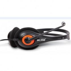 Słuchawki z mikrofonem ACME HM01 czarne