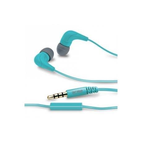 Słuchawki z mikrofonem ACME HE15B Groovy niebieskie