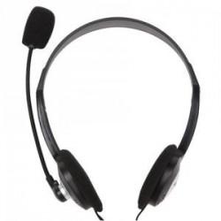 Słuchawki z mikrofonem ACME CD602 czarne