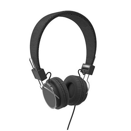 Słuchawki z mikrofonem ACME HA11 czarne