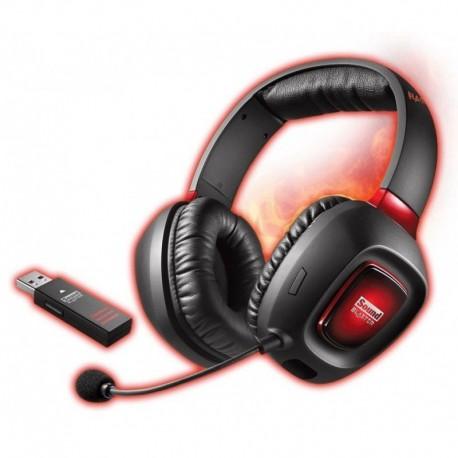 Słuchawki z mikrofonem Creative Sound Blaster Tactic3D Rage Wireless V2.0 bezprzewodowe czarne