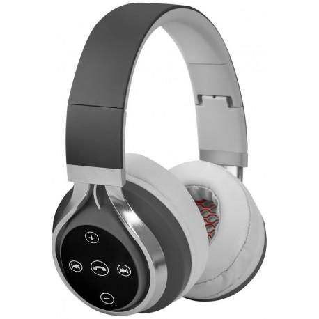 Słuchawki z mikrofonem DEFENDER FREEMOTION B600 bezprzewodowe Bluetooth czarno-szare