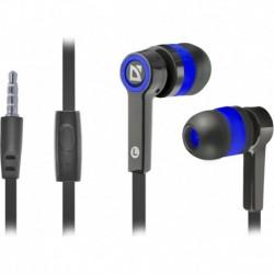 Słuchawki z mikrofonem DEFENDER PULSE 420 douszne 4-pin czarno-niebieskie