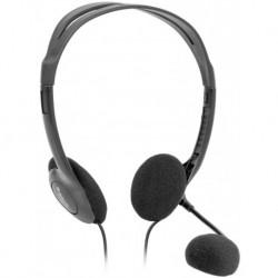 Słuchawki z mikrofonem DEFENDER AURA HN-102 szare