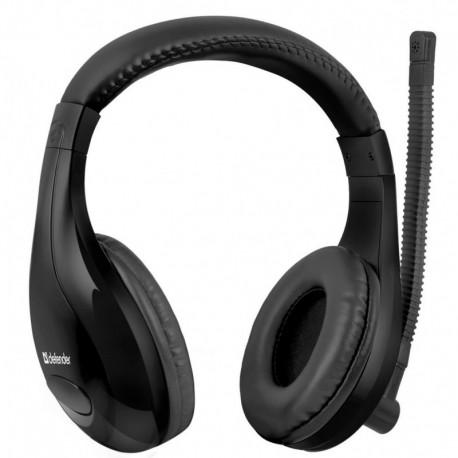 Słuchawki z mikrofonem DEFENDER WARHEAD G-170 Gaming bezprzewodowe czarne