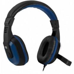 Słuchawki z mikrofonem DEFENDER WARHEAD G-190 Gaming czarno-niebieskie
