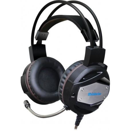 Słuchawki z mikrofonem DEFENDER WARHEAD G-500 podświetlane USB wibracja + GRA
