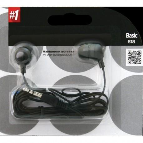 Słuchawki DEFENDER 1 BASIC 618 douszne czarne