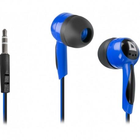 Słuchawki DEFENDER BASIC 604 douszne czarno-niebieskie