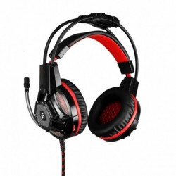 Słuchawki z mikrofonem Flashfire Signal AW 100 Gaming czarno-czerwone