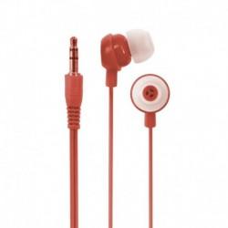 Słuchawki e5 Crazy Colour czerwone