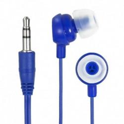Słuchawki  e5 Crazy Colour niebieskie