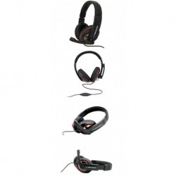 Słuchawki z mikrofonem Esperanza EH118 SONATA czarne