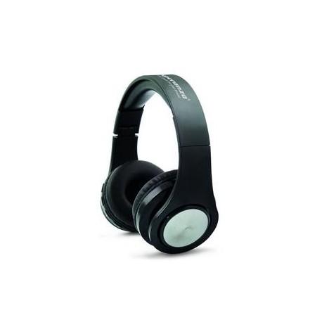Słuchawki z mikrofonem Esperanza Flexi bezprzewodowe czarne