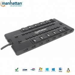 HUB USB Manhattan 28 portów 2.0/3.0 MONDO IUSB2-HUB28