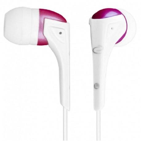 Słuchawki Esperanza EH127 biało-różowe