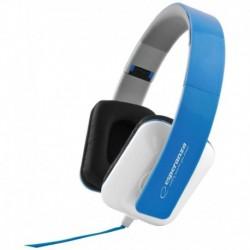 Słuchawki Esperanza EH137B Jazz biało-niebieskie