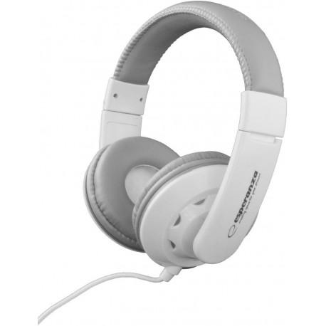 Słuchawki Esperanza EH144W Coral białe