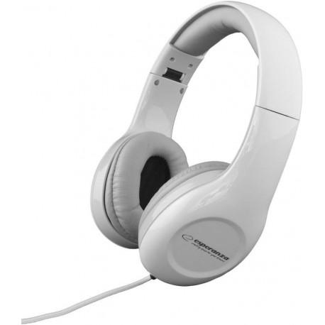 Słuchawki z mikrofonem Esperanza EH138W Soul białe