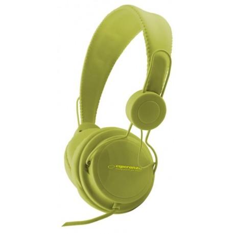 Słuchawki Esperanza EH148G zielone