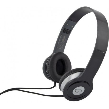 Słuchawki Esperanza EH145K Techno czarne