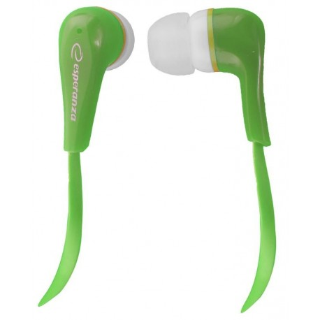 Słuchawki Esperanza EH146G zielone