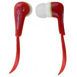 Słuchawki Esperanza EH146R czerwone