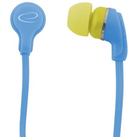 Słuchawki Esperanza EH147T Neon turkusowe