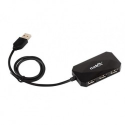 HUB USB NATEC 4-PORT LOCUST USB 2.0 BLACK