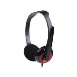 Słuchawki z mikrofonem Gembird MHS-002 czarne