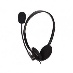 Słuchawki z mikrofonem Gembird MHS-123 czarne