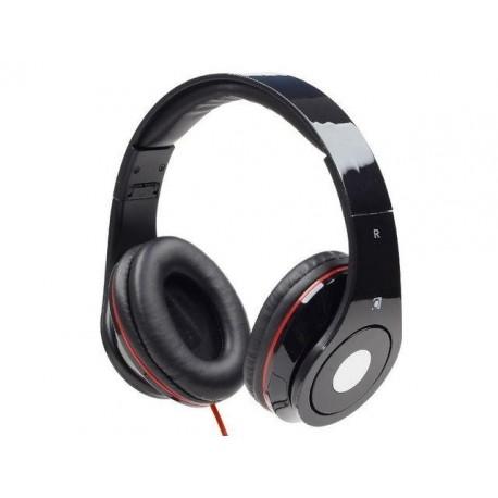 Słuchawki z mikrofonem Gembird HS-DTW-BK Detroit czarne