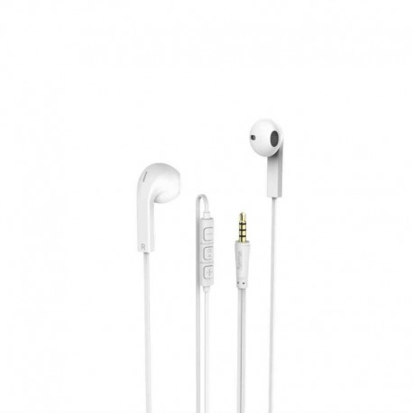 Słuchawki z mikrofonem Hama Advance białe