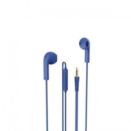 Słuchawki z mikrofonem Hama Advance niebieskie