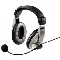 Słuchawki z mikrofonem Hama AH-100