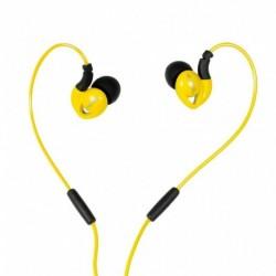 Słuchawki z mikrofonem iBOX S1 Sport żółte