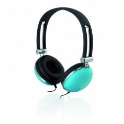 Słuchawki iBOX D005 czarno-niebieskie