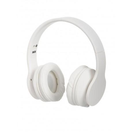 Słuchawki z mikrofonem iBOX F1 białe