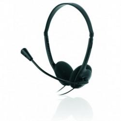 Słuchawki z mikrofonem iBOX HPI 010MV czarne