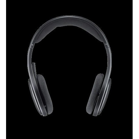 Słuchawki z mikrofonem Logitech H800 bezprzewodowe czarne