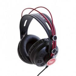 Słuchawki ISK HP-580 czarno-czerwone