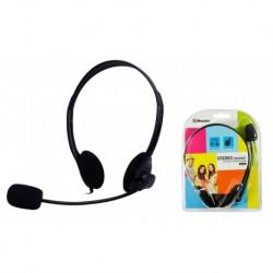 Słuchawki z mikrofonem Msonic MH425 czarne