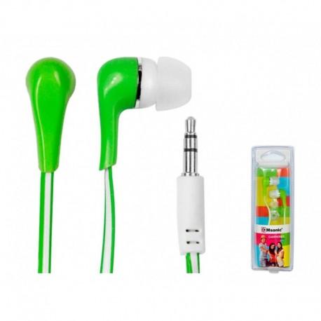 Słuchawki MSONIC MH132EE zielone
