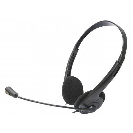 Słuchawki z mikrofonem Manta HDP001 bluetooth szare