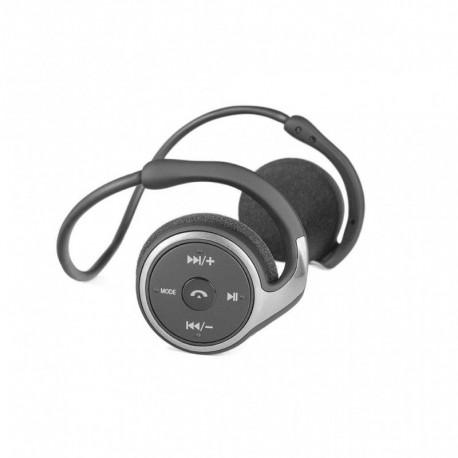 Słuchawki z mikrofonem MODECOM MC-250B z odtwarzaczem MP3 i radiem FM