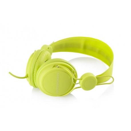 Słuchawki z mikrofonem MODECOM MC-400 FRUITY zielone