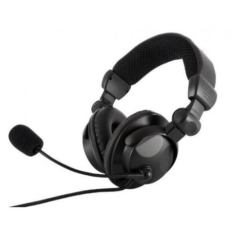 Słuchawki z mikrofonem MODECOM MC-826 HUNTER Gaming czarne